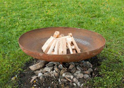 Feuerschale (Grilleinsatz vorhanden)