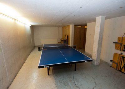 Ping Pong Raum