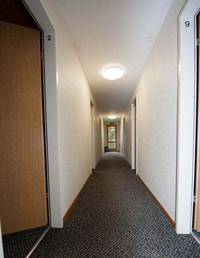 Korridor zu Zimmer